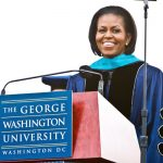 (PICS) FLOTUS Michelle Obama Gives Keynote Speech At George Washington University Commencement