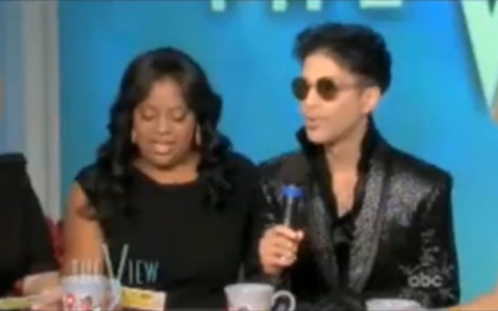 Prince Crashes 'The View' & Surprises Audience & Viewers (Video)