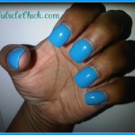 Cubicle Color Review: Sephora by OPI Glee 'Slushied'