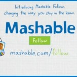 The next big social network: Mashable Follow