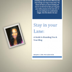 Cube Chat: My 'Stay in Your Lane' eBook is now available
