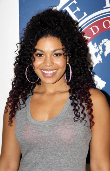 Singer Jordin Sparks is a Cubicle Chick (photos)