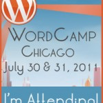 I'm Attending WordCamp Chicago 2011!