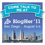 This Cubicle Chick is Going to BlogHer '11 in San Diego