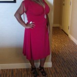 My Rockin' BlogHer Kiyonna Red Dress