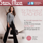 Stein Mart Teacher Appreciation Coupon for 20% Off