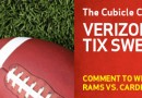 Amazing Giveaway: 2 Tickets to Rams VS Cardinals + Win a Droid Bionic & $100 VZW Gift Card