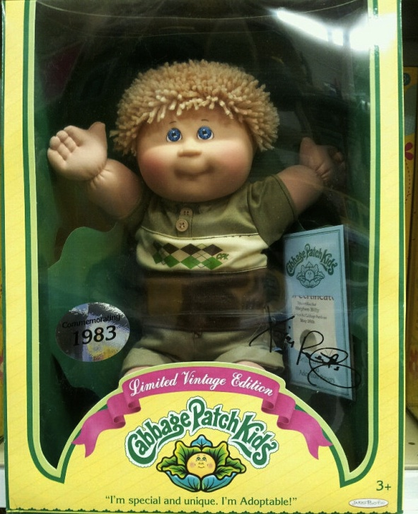 Throwback: Cabbage Patch Kid Christmas Frenzy 1983