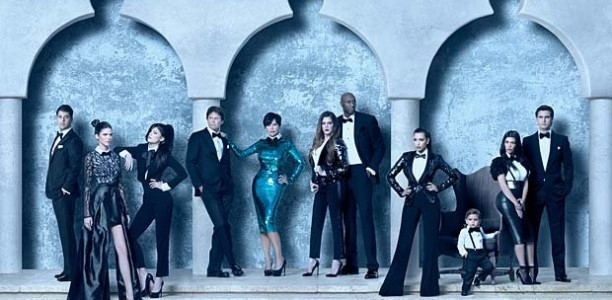 2011 Kardashian 3D Christmas Card: Flowers in the Attic?