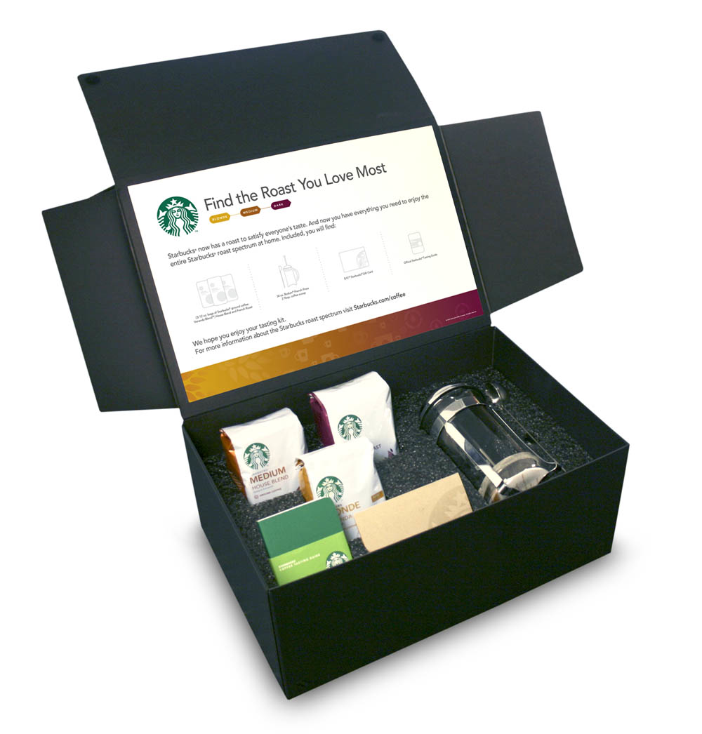 Cube Giveaway: Starbucks Find the Roast You Love Most Gift Box