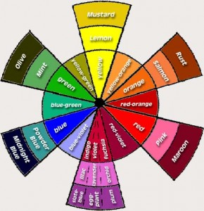Color Wheel: Look for Opposites