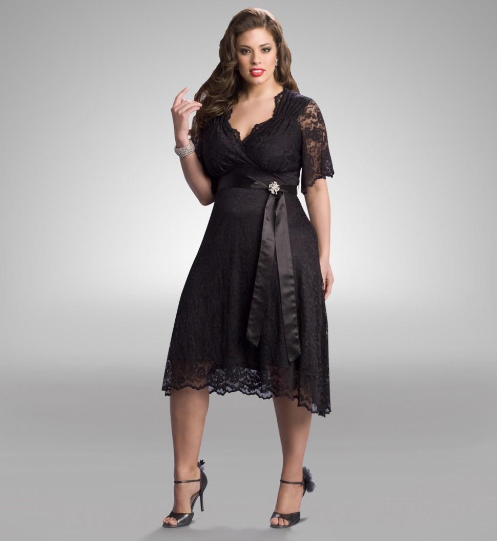 Смотреть платья для полных девушек 9