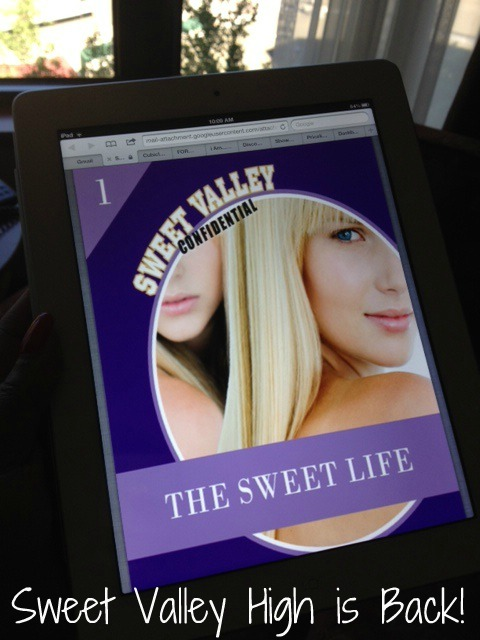 80's Cube: Sweet Valley High Returns with The Sweet Life 6 Episode Novellas