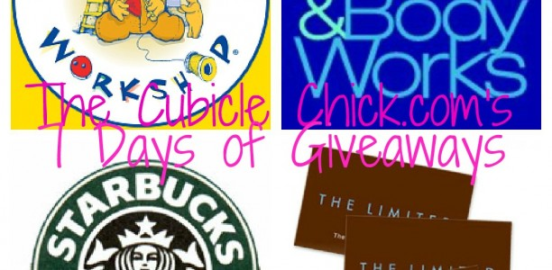 Summer Fun: TheCubicleChick.com's 7 Days of Giveaways