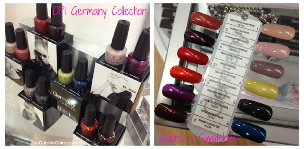 Color Code: OPI GermanyCollection Nail Swatches