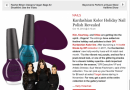Nicole by OPI&#8217;s New Kardashian Kolor Holiday Nail Polishes