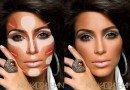 Makeup Contouring 101 with Kim Kardashian and Pinterest