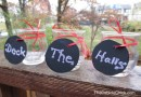 Crafting Fab: 2 Easy DIY Holiday Decor Crafts Using Chalkboard Paper