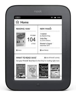 5 Days of Christmas Giveaways: Day 1, Nook Simple Touch
