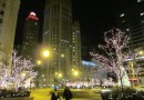 Chicago&#8217;s Michigan Avenue: Nighttime Holiday Photos
