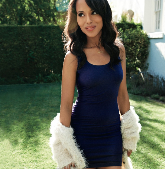Kerry Washington in Women's Health magazine