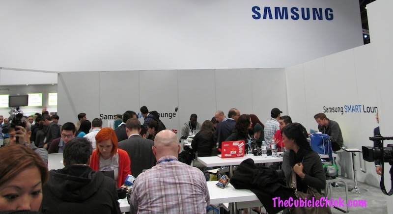#2013CES Day 1: Blogger Samsung Smart Lounge Review