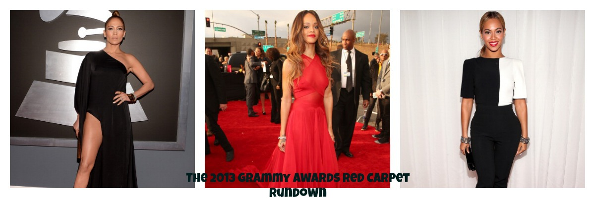 Photo Fabulous: The 2013 Grammy Awards Red Carpet Rundown