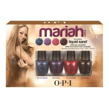 Glam Giveaway: Mariah Carey by OPI Liquid Sand Mini Nail Lacquers