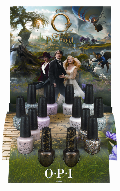 OPI Introduces Limited Edition Disney's OZ The Great and Powerful Lacquers
