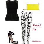 Haute Spring Trend: Black and White (With Pops of Color)