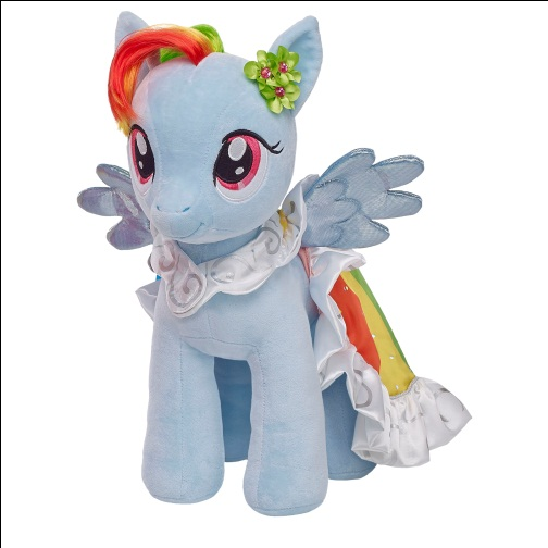 Review and Giveaway: My Little Pony Rainbow Dash from Build a Bear Workshop