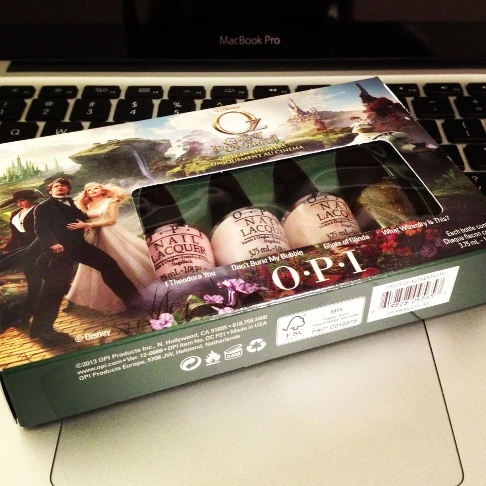 Vlog: Disney's OZ The Great and Powerful by OPI Collection Giveaway