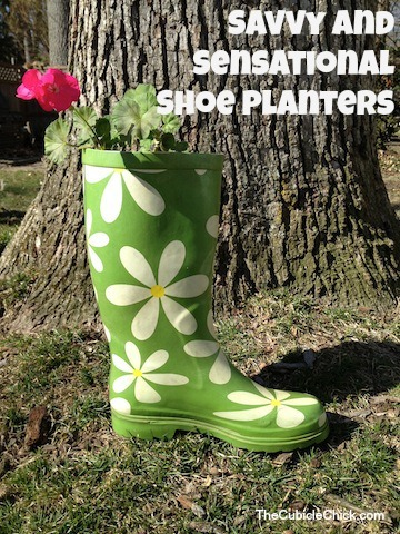 Savvy and Sensational Shoe Planters