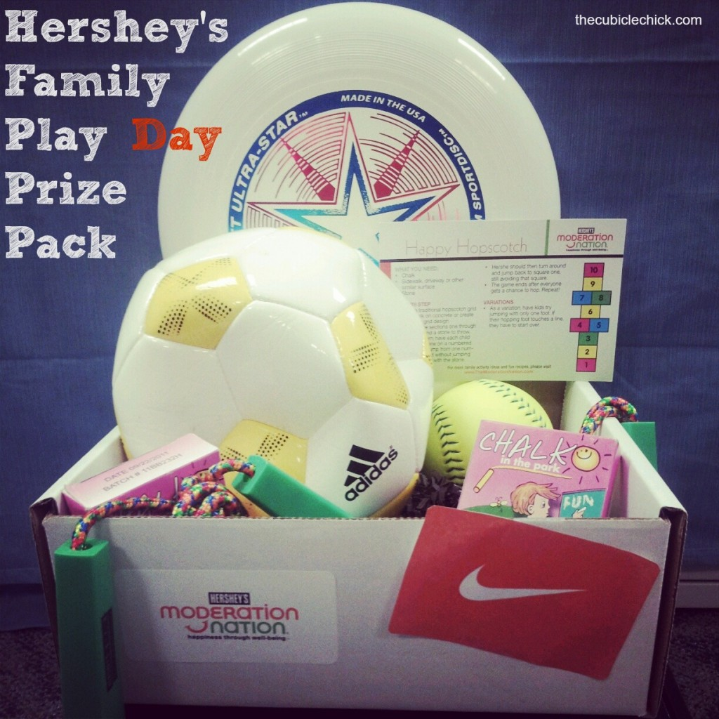 Hershey's Family Play Day Prize Pack