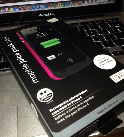 Business Travel Must Have: Mophie Juice Pack Plus Charger