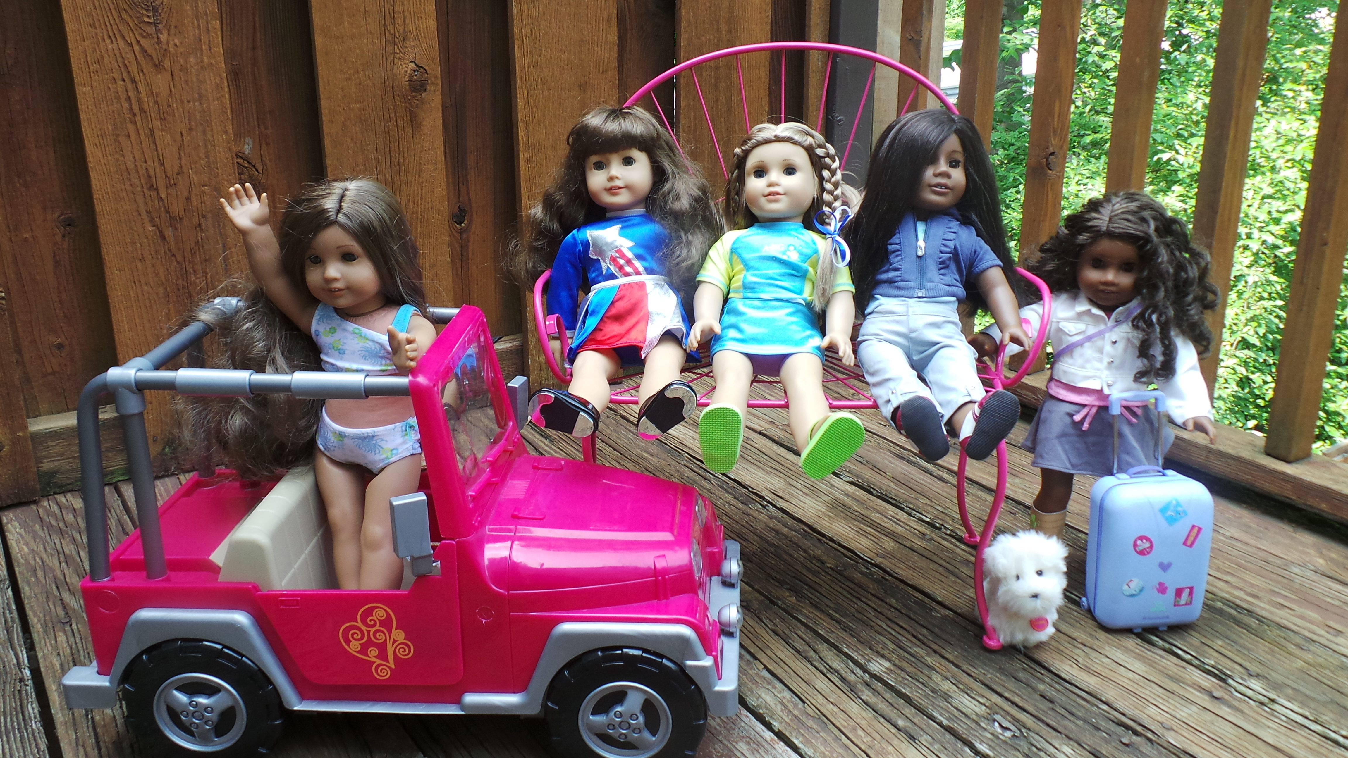 The Chicklet and her American Girls Summer of Fun Video