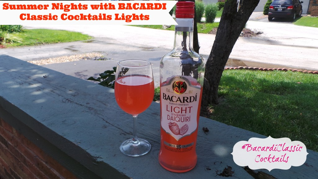 Summer Nights with BACARDI Classic Cocktails Lights