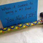 Father's Day DIY Gift Idea: You Nailed It Hammer