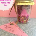Summer Craft Miniature Memory Jar