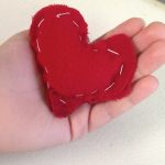 School Rules: Back to School Craft Pocket Heart #DIY