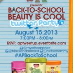African Pride Back to School Twitter Party & Giveaway #APBackToSchool