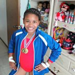 DIY Halloween: Gabby Douglas Team USA Olympic Costume