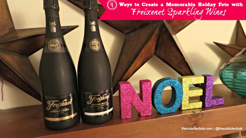 Four Ways to Create a Memorable Holday Fete with Freixenet Sparkling Wines