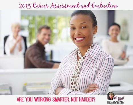 2013 Career Assessment and Evaluation