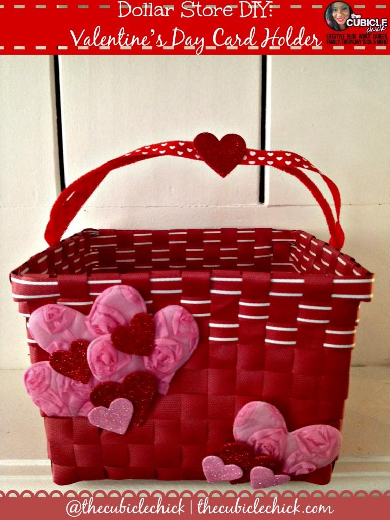 Dollar Store DIY Valentines Day Card Holder