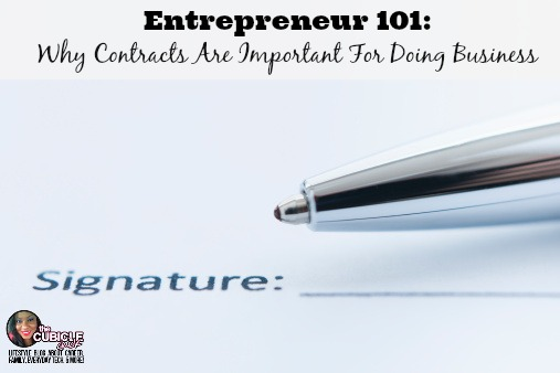 Why Contracts Are Important For Doing Business
