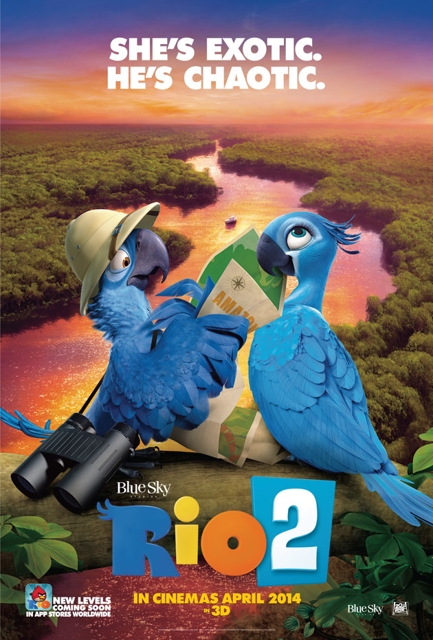 Giveaway: Advanced Screening Tickets for Rio 2 #STL Area Only