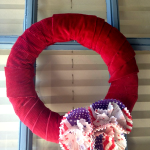 DIY Memorial Day Cupcake Cup Wreath Craft