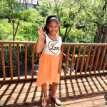 Tween Style: Love High-Low Dress with a Dash of Peace