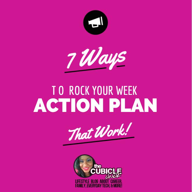 7 Ways to Rock Your Week Action Plan (That Work!) Free Download